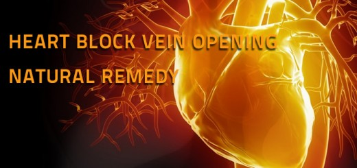 Heart Block Vein Opening Natural Remedy