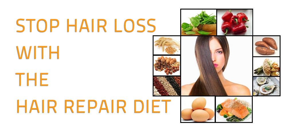 Stop Hair Loss with the Hair Repair Diet